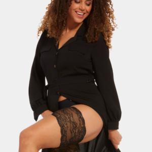 magic-bodyfashion-be-sweet-to-your-legs-lace-dijenbanden-75BL-zwart