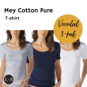mey-cotton-pure-dames-t-shirt-26500-aanbieding-voordeel-pak