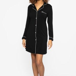 Pretty-you-london-nightshirt-bamboo-zwart