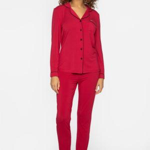 pretty-you-london-pyjama-bamboo-scarlet-rood