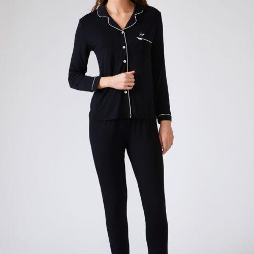 pretty-you-london-pyjama-bamboo-black-zwart