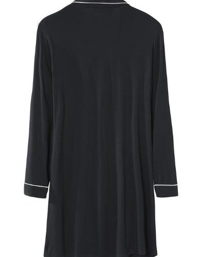 Pretty-you-london-nachthemd-bamboo-zwart